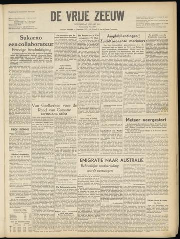 de Vrije Zeeuw 1951-03-01