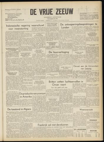 de Vrije Zeeuw 1957-08-01
