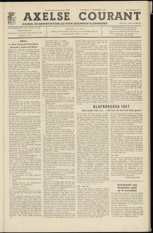 Axelsche Courant 1967-11-04