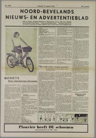 Noord-Bevelands Nieuws- en advertentieblad 1966-08-13