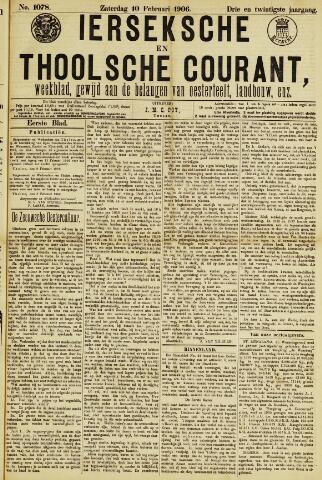 Ierseksche en Thoolsche Courant 1906-02-10