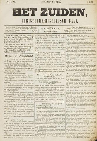 Het Zuiden, Christelijk-historisch blad 1880-05-11