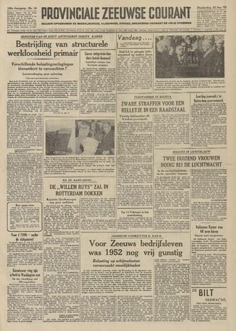 Provinciale Zeeuwse Courant 1953-01-22