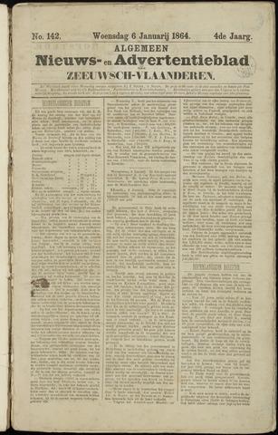 Ter Neuzensche Courant. Algemeen Nieuws- en Advertentieblad voor Zeeuwsch-Vlaanderen / Neuzensche Courant ... (idem) / (Algemeen) nieuws en advertentieblad voor Zeeuwsch-Vlaanderen 1864