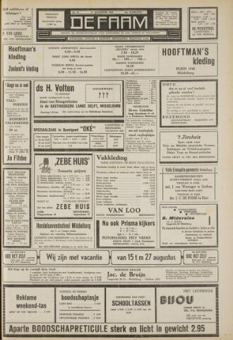 de Faam en de Faam/de Vlissinger 1960-08-12