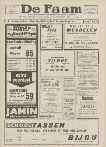 de Faam en de Faam/de Vlissinger 1967-08-17