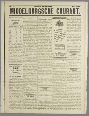 Middelburgsche Courant 1925-05-12