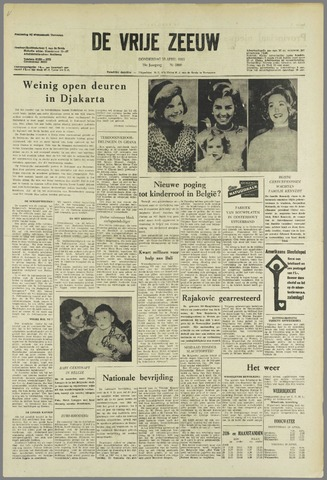 de Vrije Zeeuw 1963-04-18