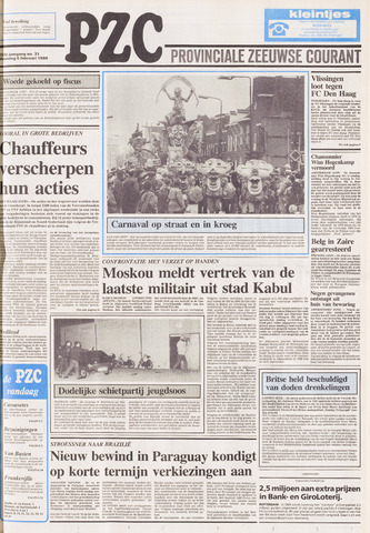 Provinciale Zeeuwse Courant 1989-02-06