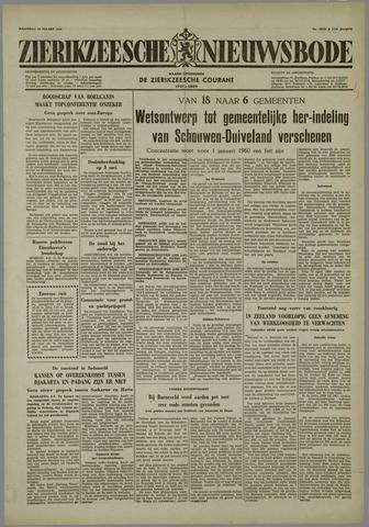 Zierikzeesche Nieuwsbode 1958-03-10