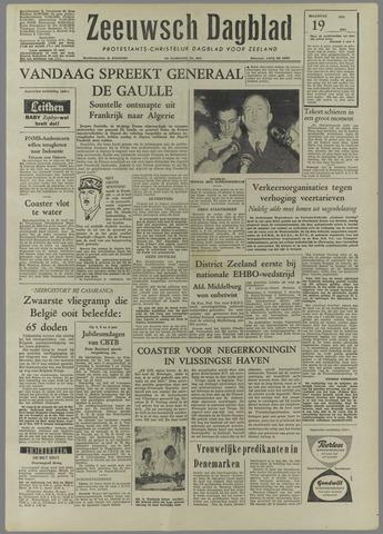 Zeeuwsch Dagblad 1958-05-19
