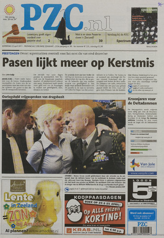 Provinciale Zeeuwse Courant 2011-04-23