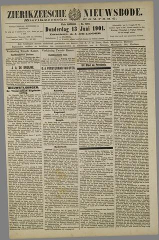 Zierikzeesche Nieuwsbode 1901-06-13