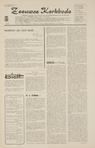 Zeeuwsche kerkbode, weekblad gewijd aan de belangen der gereformeerde kerken/ Zeeuwsch kerkblad 1968-01-18