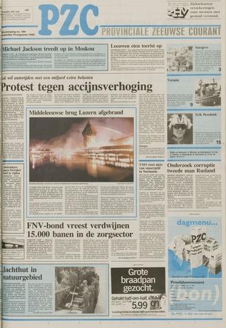 Provinciale Zeeuwse Courant 1993-08-19