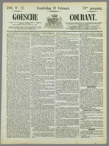 Goessche Courant 1891-02-19
