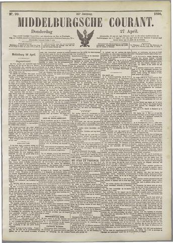 Middelburgsche Courant 1899-04-27