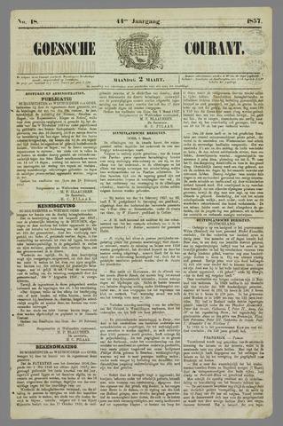 Goessche Courant 1857-03-02
