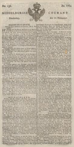 Middelburgsche Courant 1762-11-11