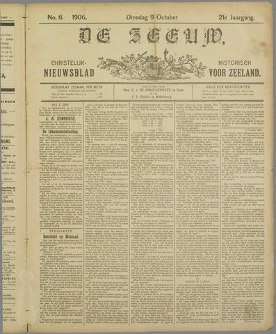 De Zeeuw. Christelijk-historisch nieuwsblad voor Zeeland 1906-10-09