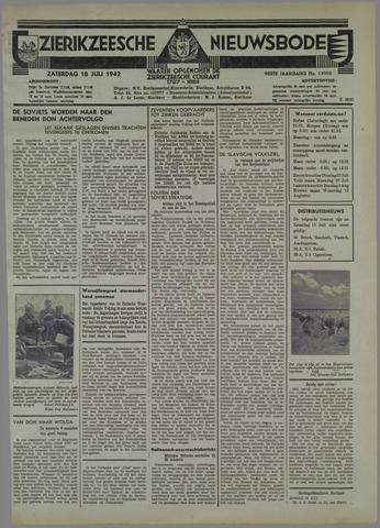 Zierikzeesche Nieuwsbode 1942-07-18