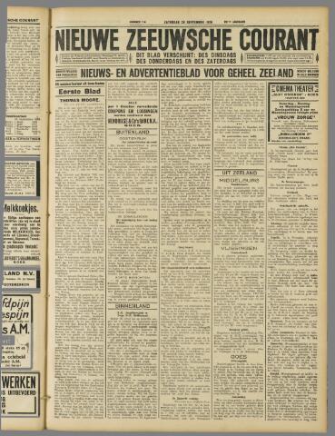 Nieuwe Zeeuwsche Courant 1929-09-28