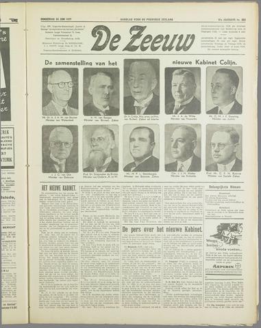 De Zeeuw. Christelijk-historisch nieuwsblad voor Zeeland 1937-06-24