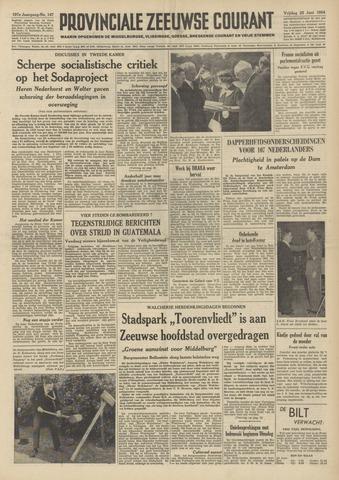 Provinciale Zeeuwse Courant 1954-06-25