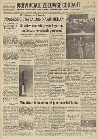 Provinciale Zeeuwse Courant 1958-03-07