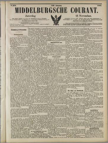 Middelburgsche Courant 1903-11-21