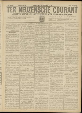 Ter Neuzensche Courant. Algemeen Nieuws- en Advertentieblad voor Zeeuwsch-Vlaanderen / Neuzensche Courant ... (idem) / (Algemeen) nieuws en advertentieblad voor Zeeuwsch-Vlaanderen 1938-01-17