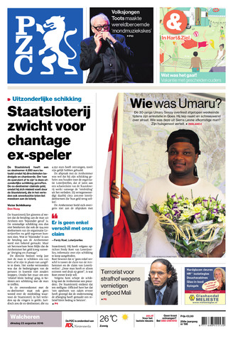 Provinciale Zeeuwse Courant 2016-08-23