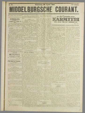 Middelburgsche Courant 1927-04-25