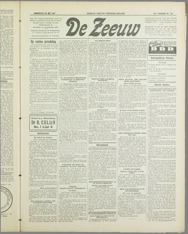 De Zeeuw. Christelijk-historisch nieuwsblad voor Zeeland 1937-05-20