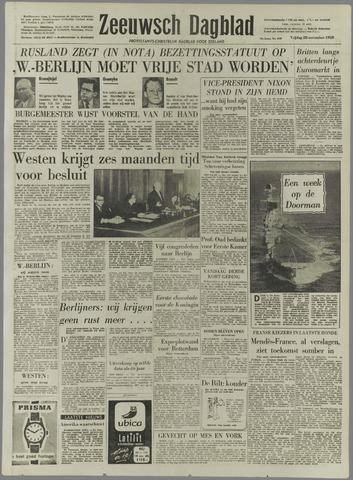 Zeeuwsch Dagblad 1958-11-28