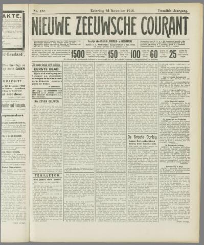 Nieuwe Zeeuwsche Courant 1916-12-23