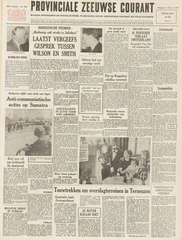 Provinciale Zeeuwse Courant 1965-10-12