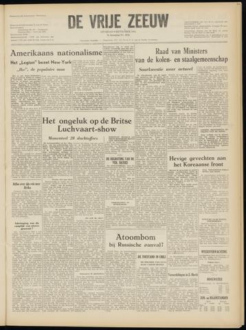 de Vrije Zeeuw 1952-09-09