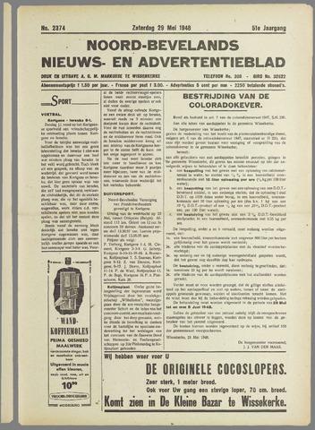 Noord-Bevelands Nieuws- en advertentieblad 1948-05-29