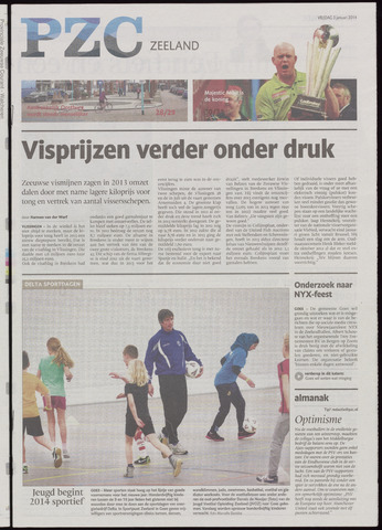 Provinciale Zeeuwse Courant 2014-01-03