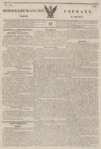 Middelburgsche Courant 1844-09-24