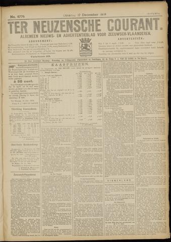 Ter Neuzensche Courant. Algemeen Nieuws- en Advertentieblad voor Zeeuwsch-Vlaanderen / Neuzensche Courant ... (idem) / (Algemeen) nieuws en advertentieblad voor Zeeuwsch-Vlaanderen 1918-12-17