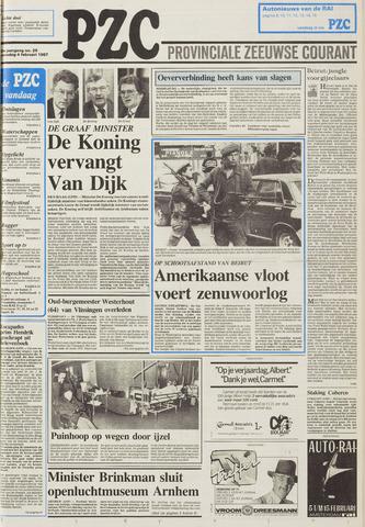 Provinciale Zeeuwse Courant 1987-02-04