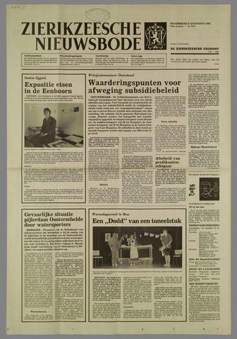 Zierikzeesche Nieuwsbode 1984-08-09