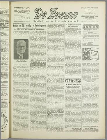 De Zeeuw. Christelijk-historisch nieuwsblad voor Zeeland 1937-12-08