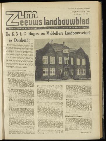 Zeeuwsch landbouwblad ... ZLM land- en tuinbouwblad 1962-04-27