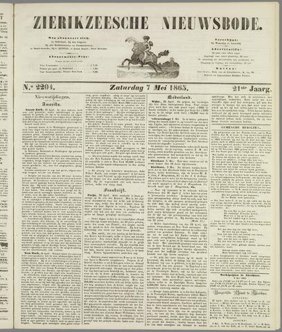 Zierikzeesche Nieuwsbode 1865-05-07