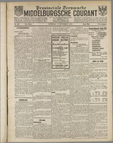 Middelburgsche Courant 1932-11-12