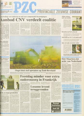 Provinciale Zeeuwse Courant 2003-08-28