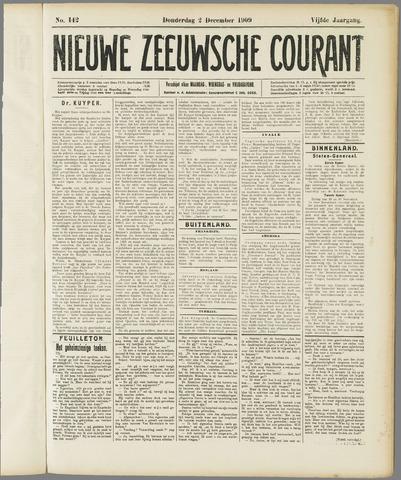 Nieuwe Zeeuwsche Courant 1909-12-02